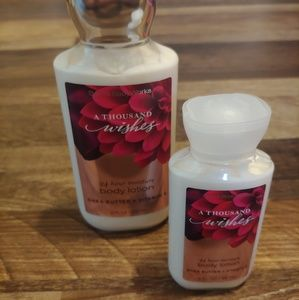 A Thousand Wishes Lotion Set